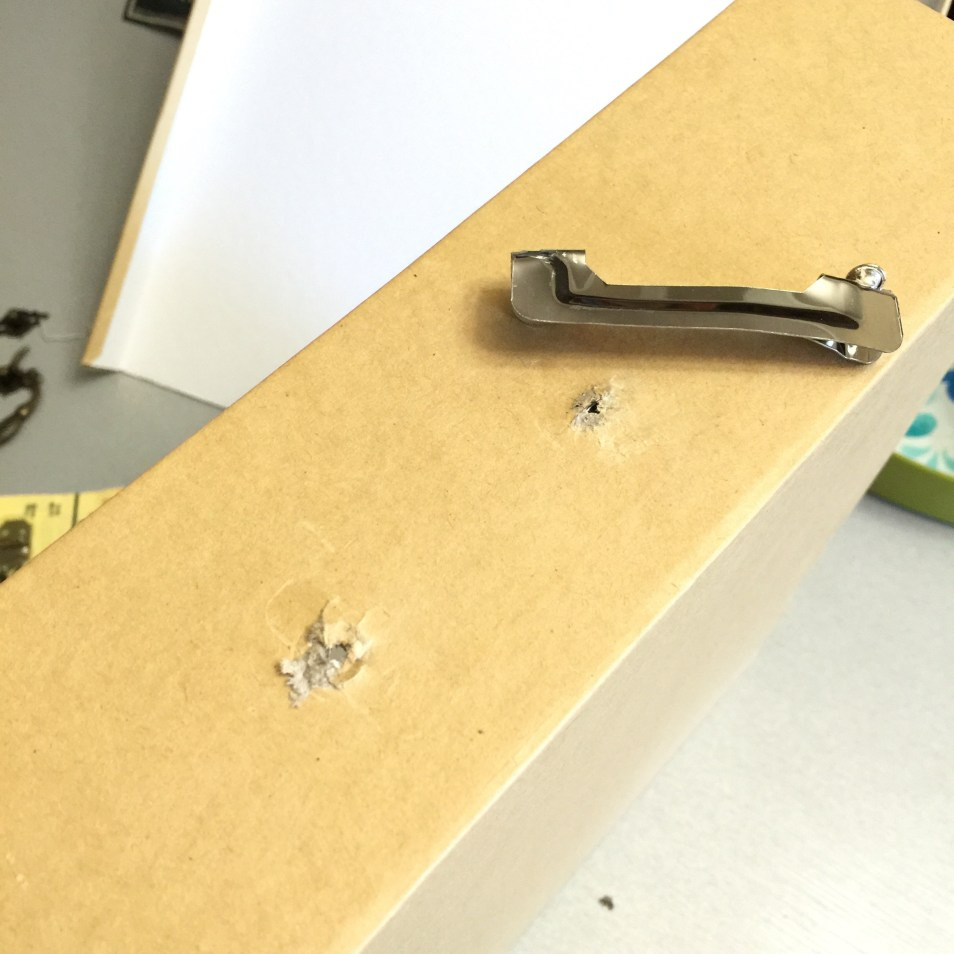 DIY craft storage box