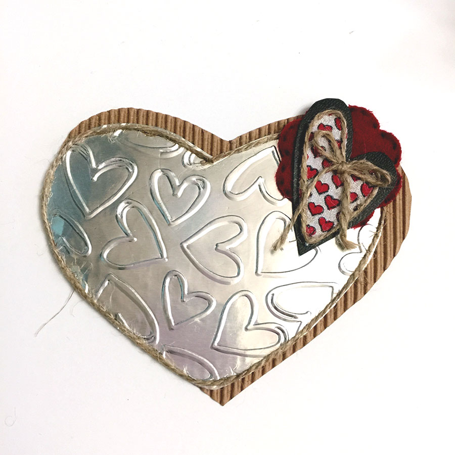 DIY Valentine Heart & Arrow