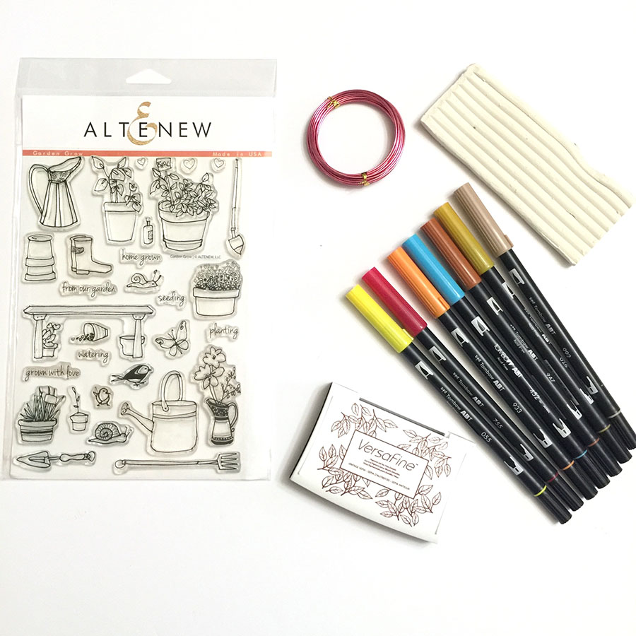 Tombow USA and Atenew Blog Hop