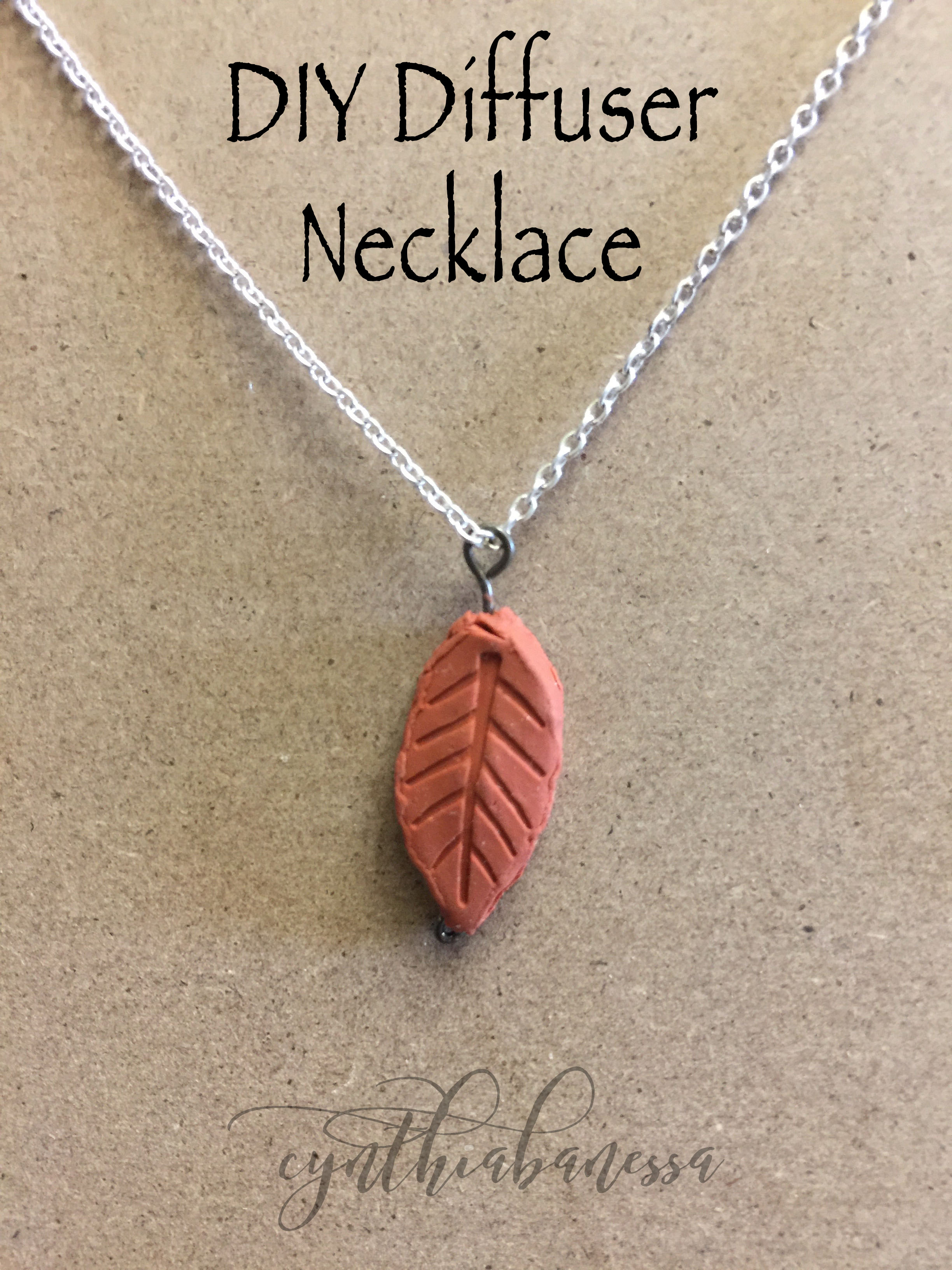 DIY Diffuser Necklace
