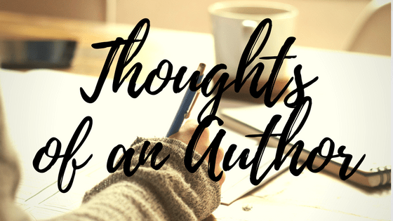 Thoughts Of An Author
