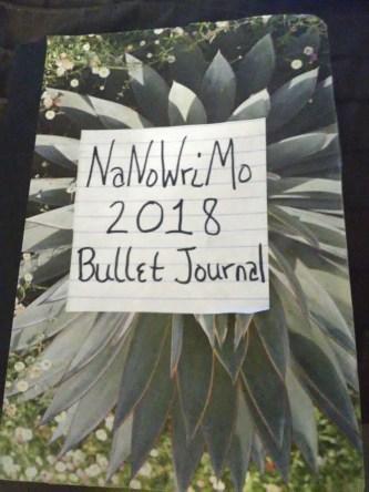NaNoWriMo Bullet Journal