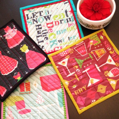 """What can you make with an 8"""" Swatch from Spoonflower?"""