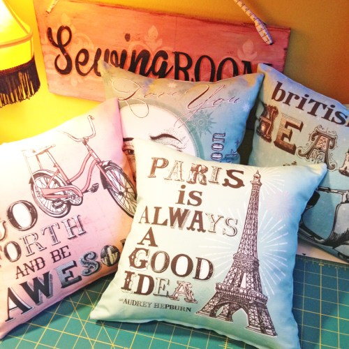Tutorial: Make a Shabby Chic pillow, or two, or four