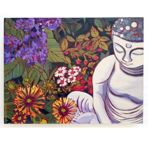 New painting, Finding Peace in Every Day