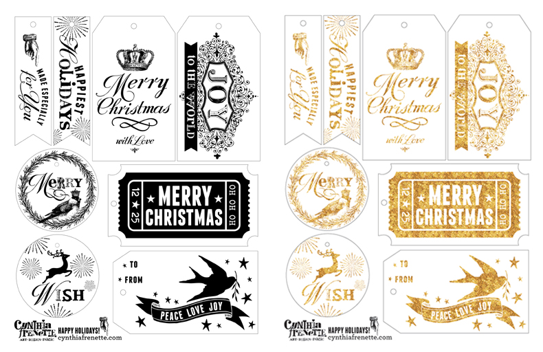 graphic relating to Printable Cardstock Tags named Freebie: Printable Vacation Reward Tags Cynthia Frenette