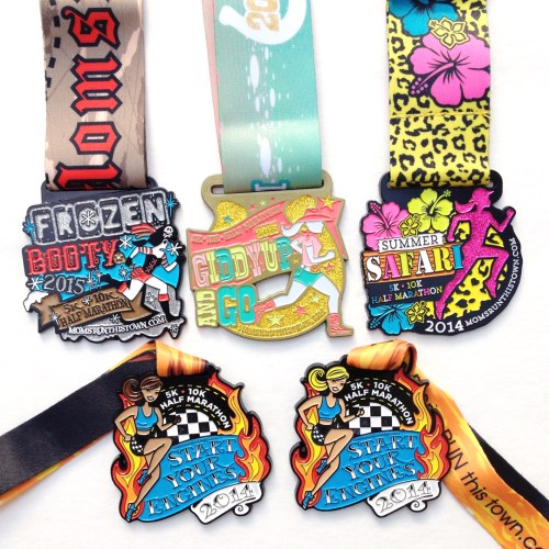 Cool Client Project: Moms Run This Town Race Medals