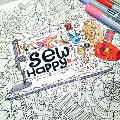Sew colourful!