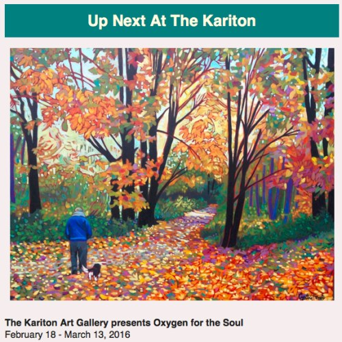 Oxygen For The Soul Show, art and more!