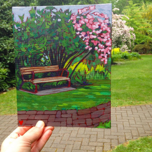 Opus Outdoor Painting Challenge, May 2016