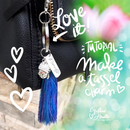 Tutorial: Make a Thread Tassel Purse Clip!