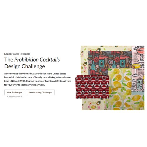 Spoonflower Weekly Design Contests are back!