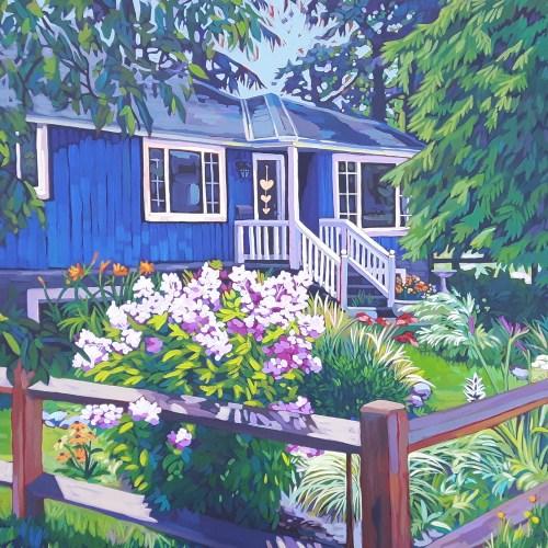 New art finish! The House on the Corner