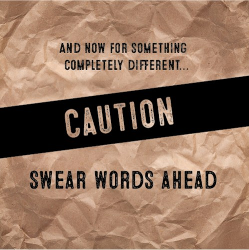 Sometimes you have to say it with style... (caution swear words ahead)