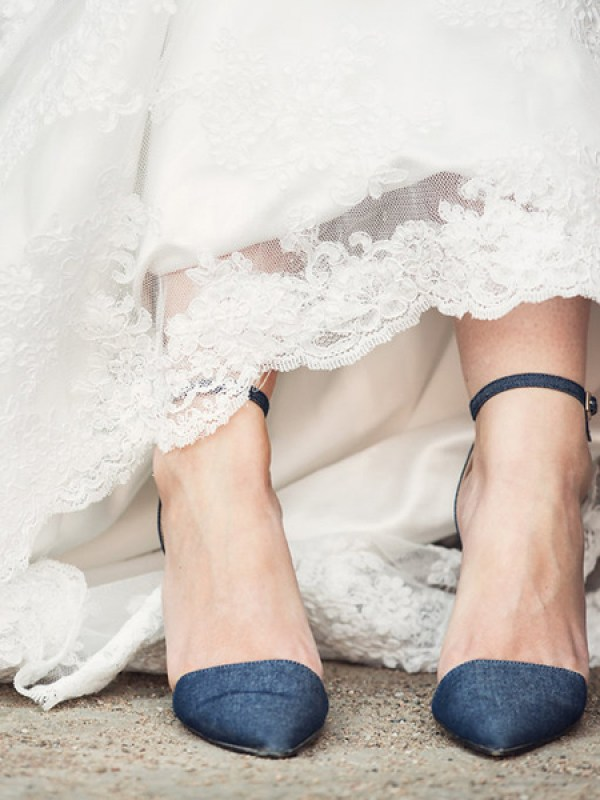 Wedding Denim Shoes