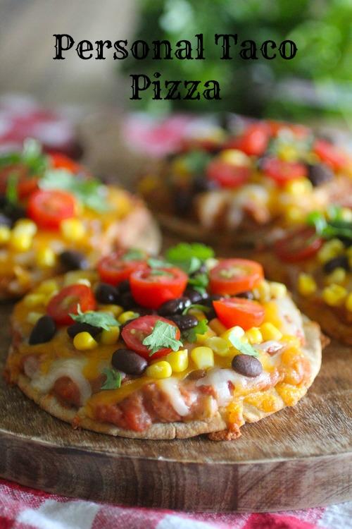 Personal Taco Pizza