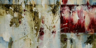 """Sweet Sorrow 24"""" x 20"""" Abstract Oil Painting"""