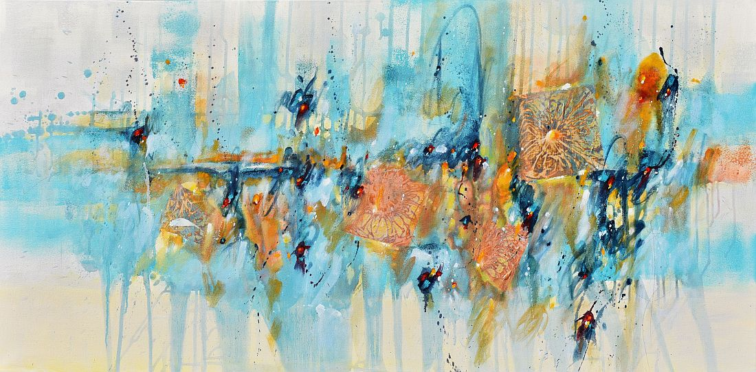 """Between Earth And Sky 24""""x48"""""""