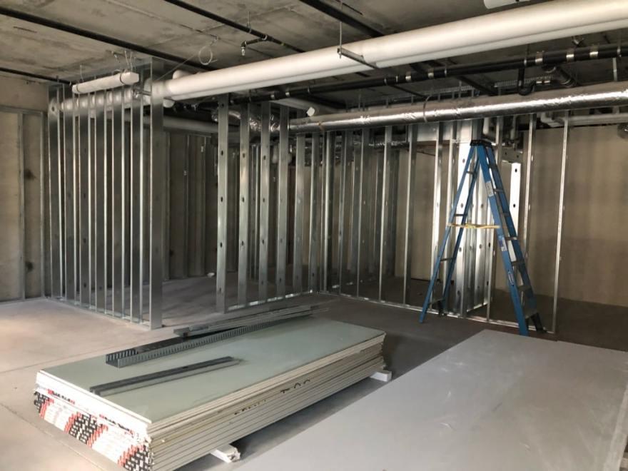 Under Construction.  The New Summit Gallery, Main Street, Park City, Utah!