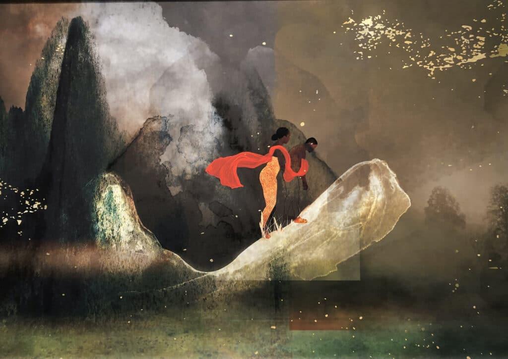 Digital art by Carla Jay Harris