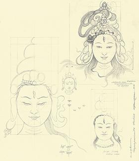 Wisdom Female Buddha Study
