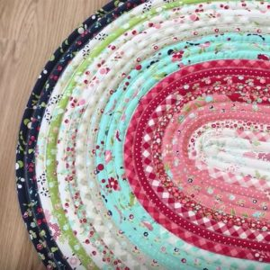 #525 Jelly Roll Rug with Kelly @ Cynthia's Fine Fabrics