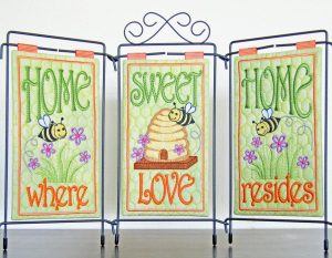 """#549  """"Home Sweet Home"""" Table Banner"""