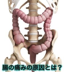 腸の痛み原因 右左中央