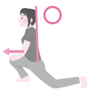 股関節固いストレッチ