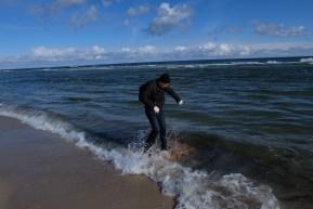 2016.03.19 - Ogarnij plażę na wiosnę. Surfing europaletowy.