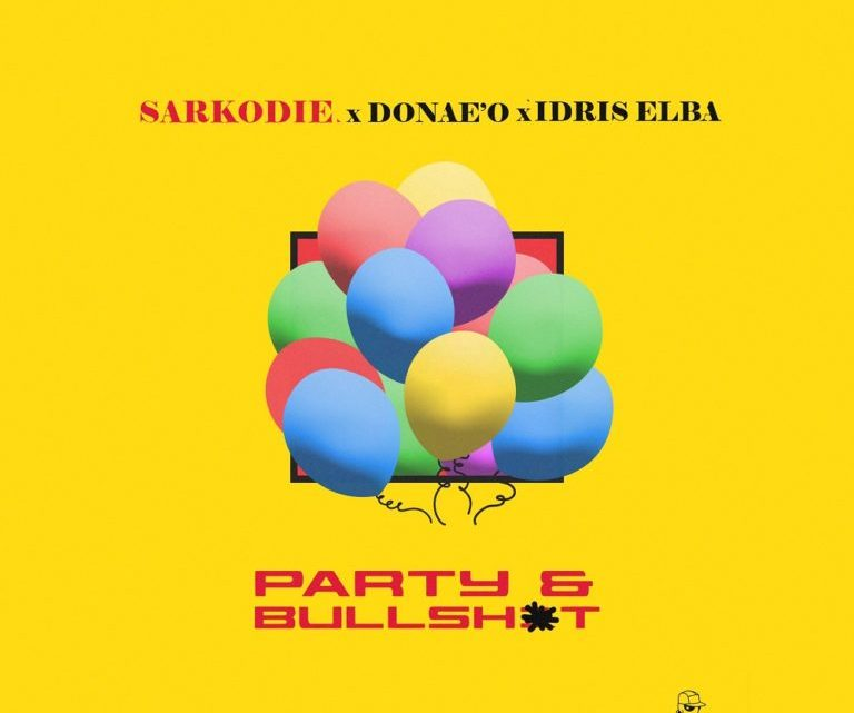 """Ghanaian rapper, Sarkodie riggings up his coming song album with another gathering song calledParty N Bullsh*t. The rapper's new song, """"Party N Bullsh*t"""" highlights English rapper, Donae'O and British on-screen character, Idris Elba. I"""