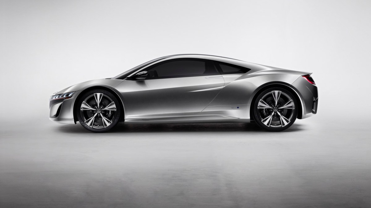 The Acura NSX Concept