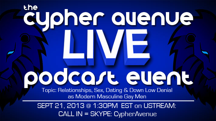 The First Cypher Avenue Live Podcast This Saturday!