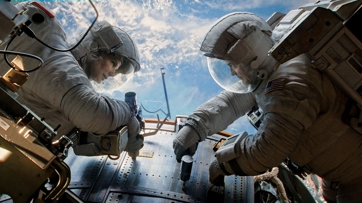 FILM REVIEW: GRAVITY (aka The Taint Tingler in IMAX 3D)