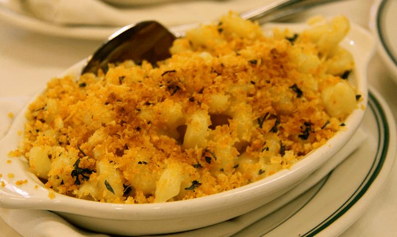 Mac & Cheese Crabmeat Casserole