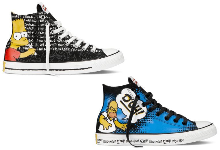 Chuck Taylor The Simpsons