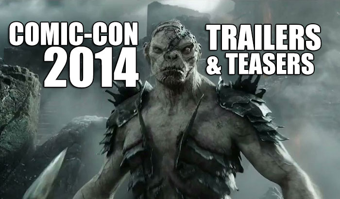Comic-Con 2014: Trailers and Teasers