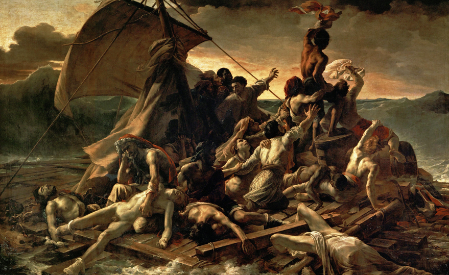 theodor gericault raft of the medusa