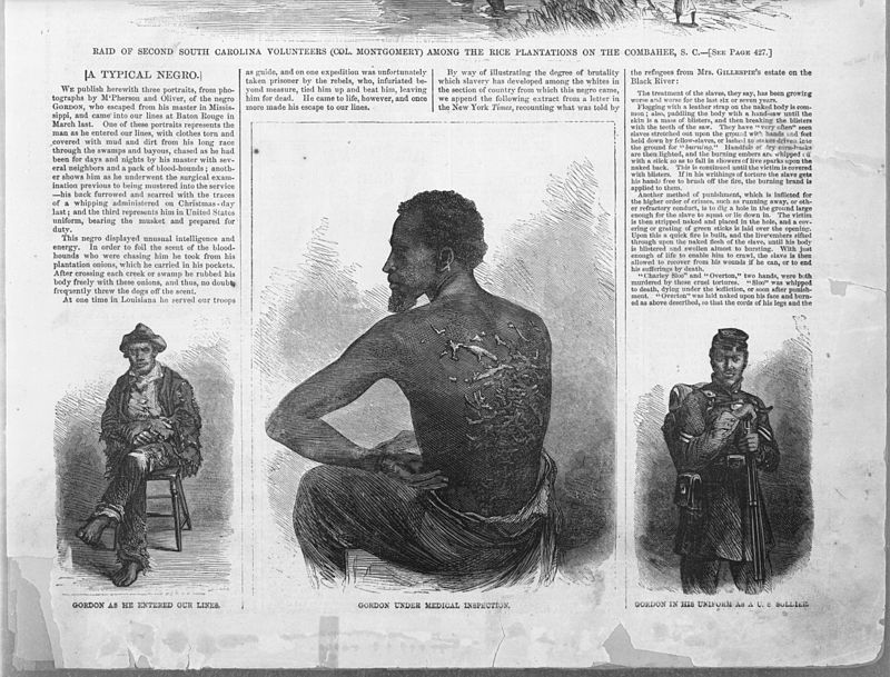 800px-Gordon,_scourged_back,_Harper's_weekly,_1863_July_4,_p429,_bottom