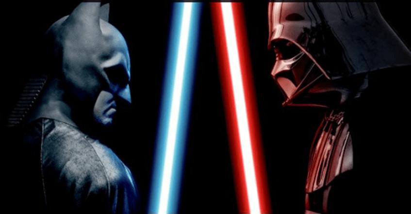 Batman vs Darth Vader – The Alternate Ending