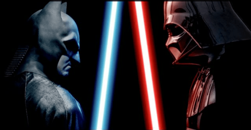 Batman vs Darth Vader – The Alternate Ending