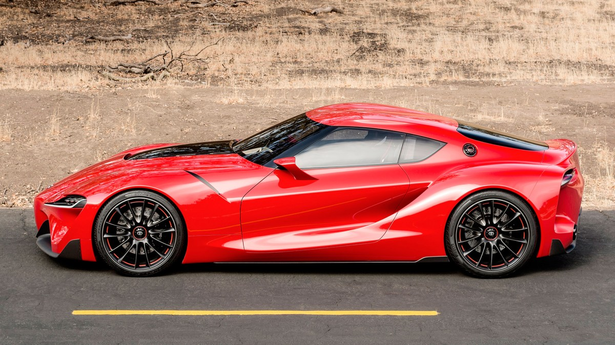 The Toyota FT-1
