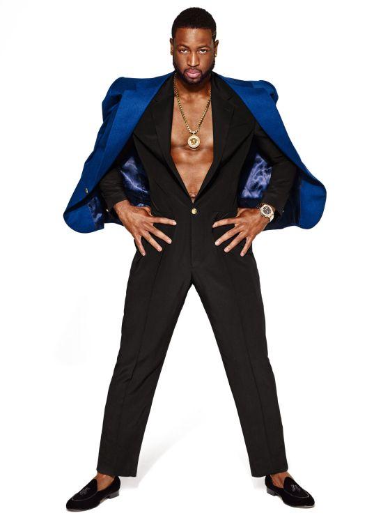 Dwayne Wade's Onsie Pimp Suit