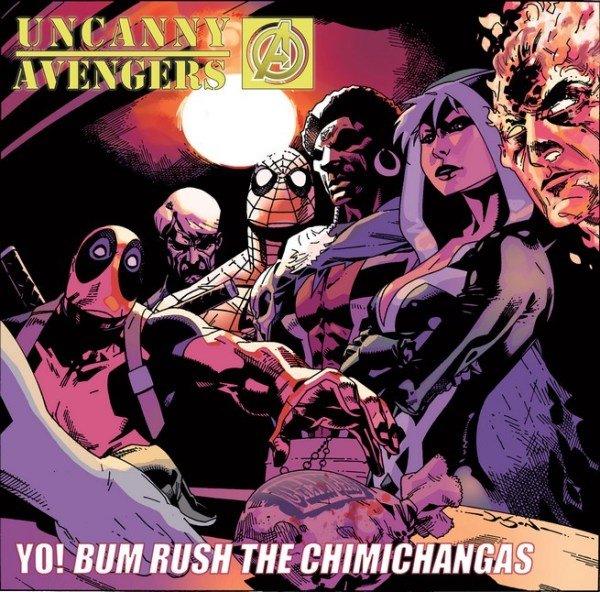 Uncanny Avengers /Public Enemy's Yo! Bum Rush the Show