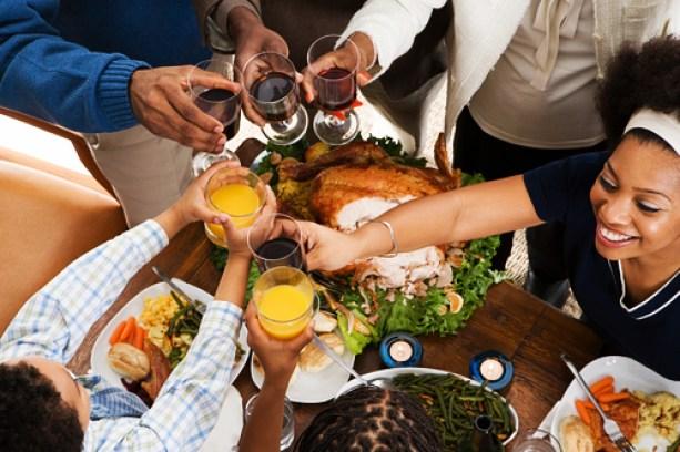black-family-dinner