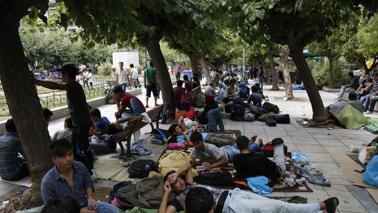 Migrant Men in Greece are Prostituting themselves to Survive
