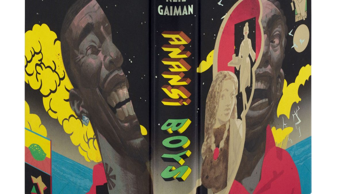 Collector's Edition of Neil Gaiman's Anansi Boys