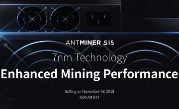 Antminer S15 & T15: El nuevo hardware minero de Bitmain