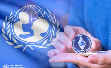 Unicef dona 125 Ethereum (ETH) a startups enfocadas en mitigar la situación del coronavirus