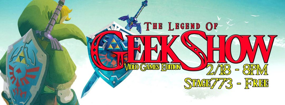 GeekShow VideoGame Edition
